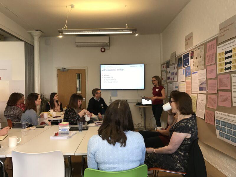 Q Lab workshop – live blog | Q Community