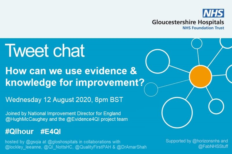 #QIhour tweet chat poster