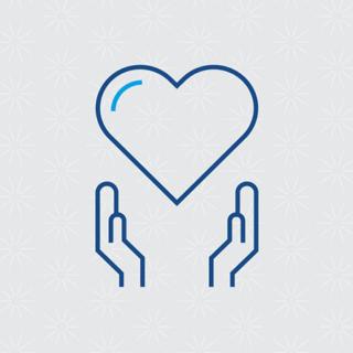 Health Improvement Scotland - person centred care icon